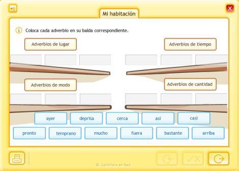 Clasificación de adverbios